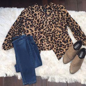 Leopard size L jacket